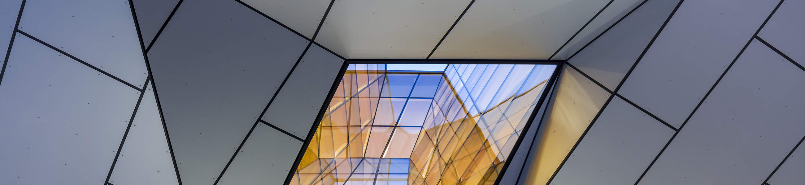 Glass skylight at UBC-Earth-Science building